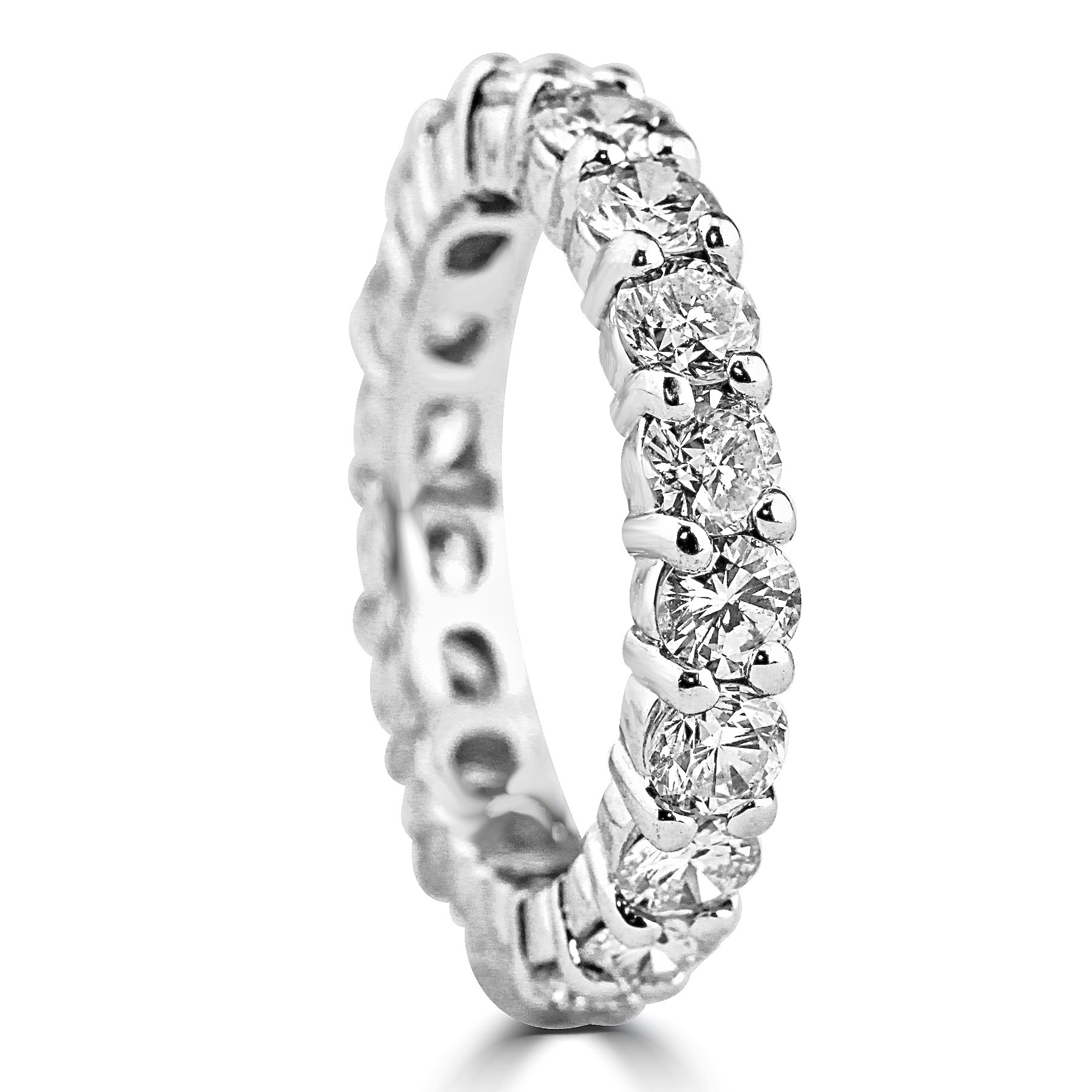 cleef all band van and cut diamond wedding bands eternity round arpels ring baguette jewelry