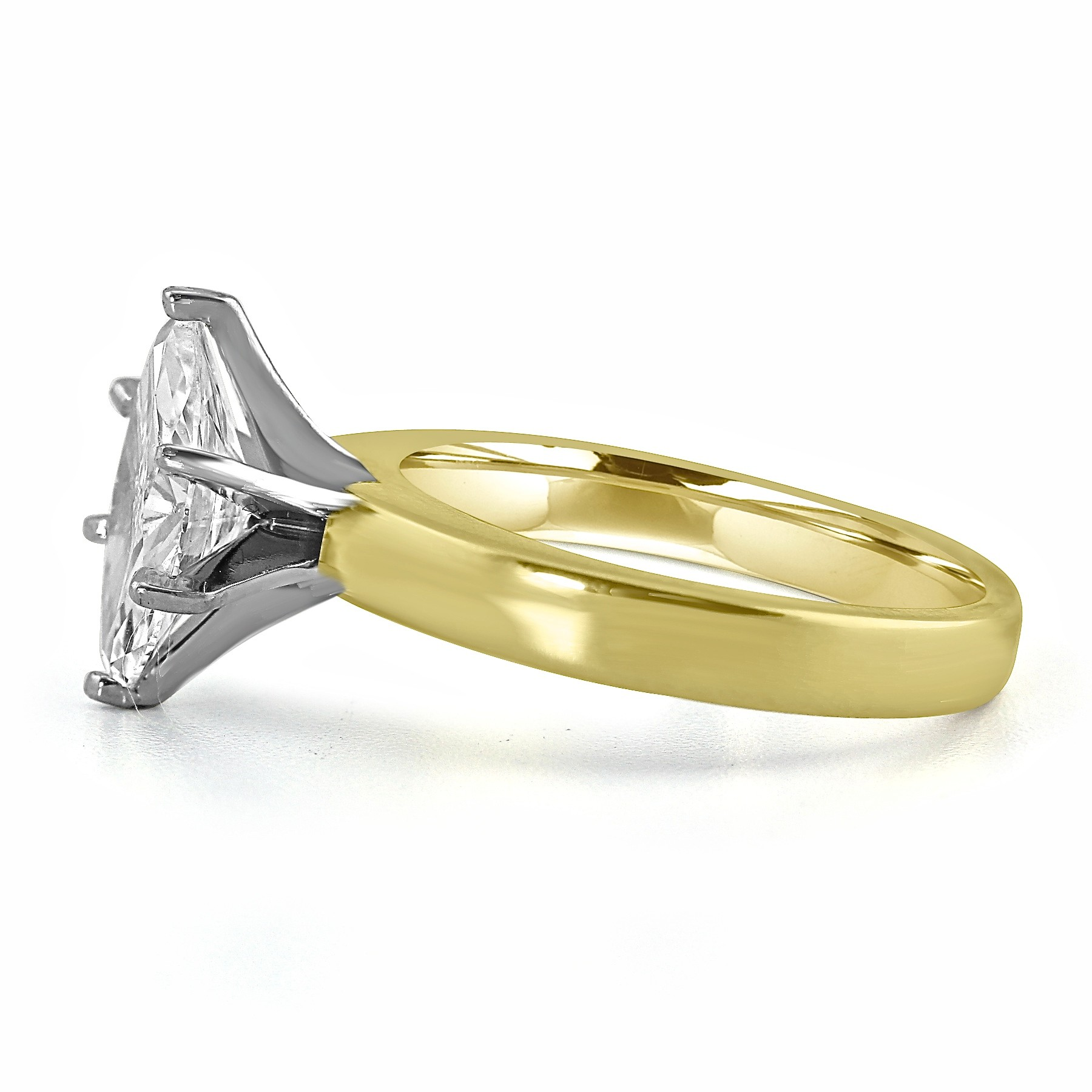 shank east cut shape rings west in diamond ring marquise gold white with halo pave engagement