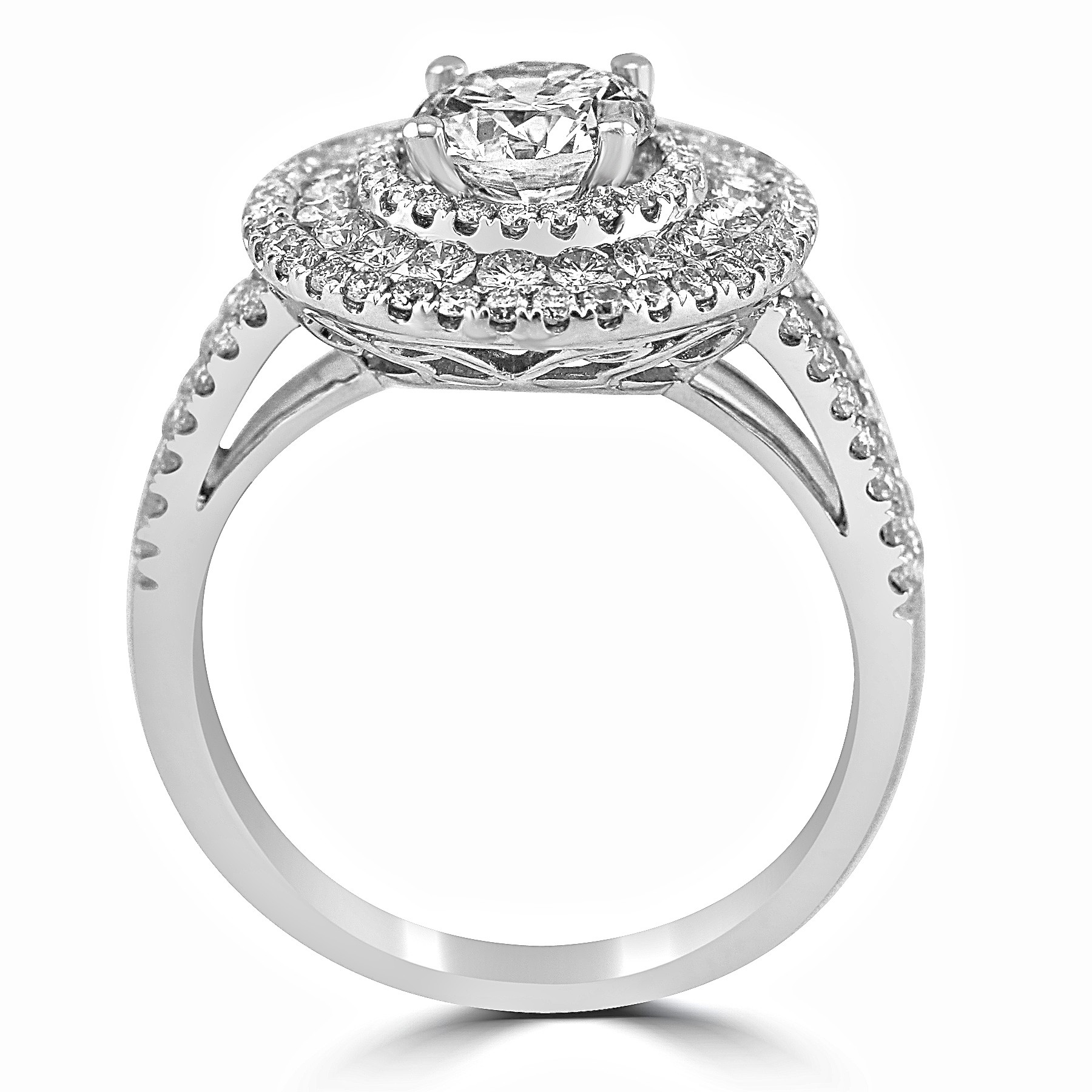 minimal pav setting rg vertical collections vow oval engagement rose the wedding vrai band oro pave ring gold rings diamond