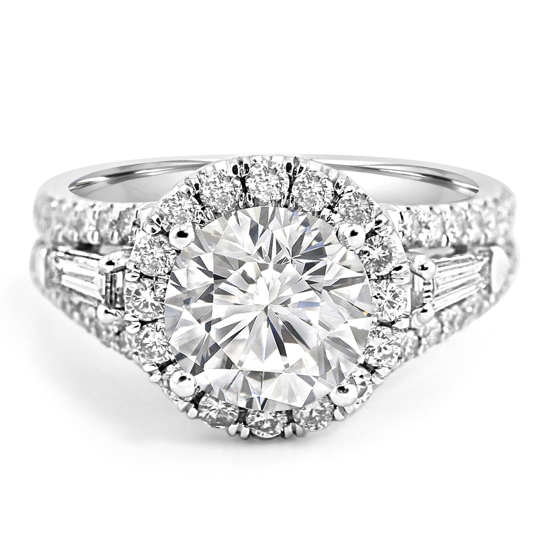 mg jewelers jean g diamond cut round engagement ring and halo rings wedding pierre w baguette