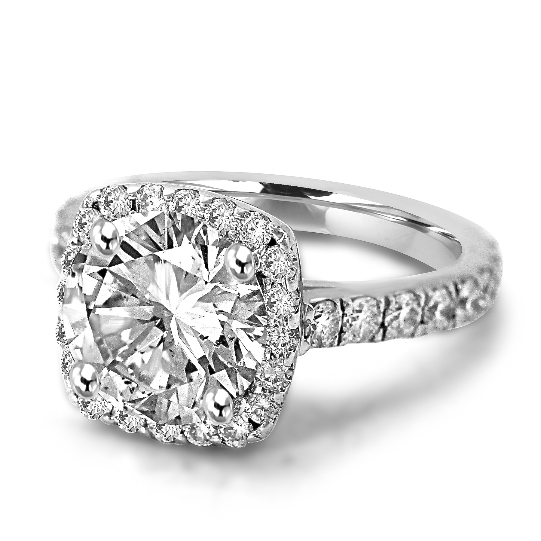 diamond ct ring benzdiamonds engagement products cushion cut