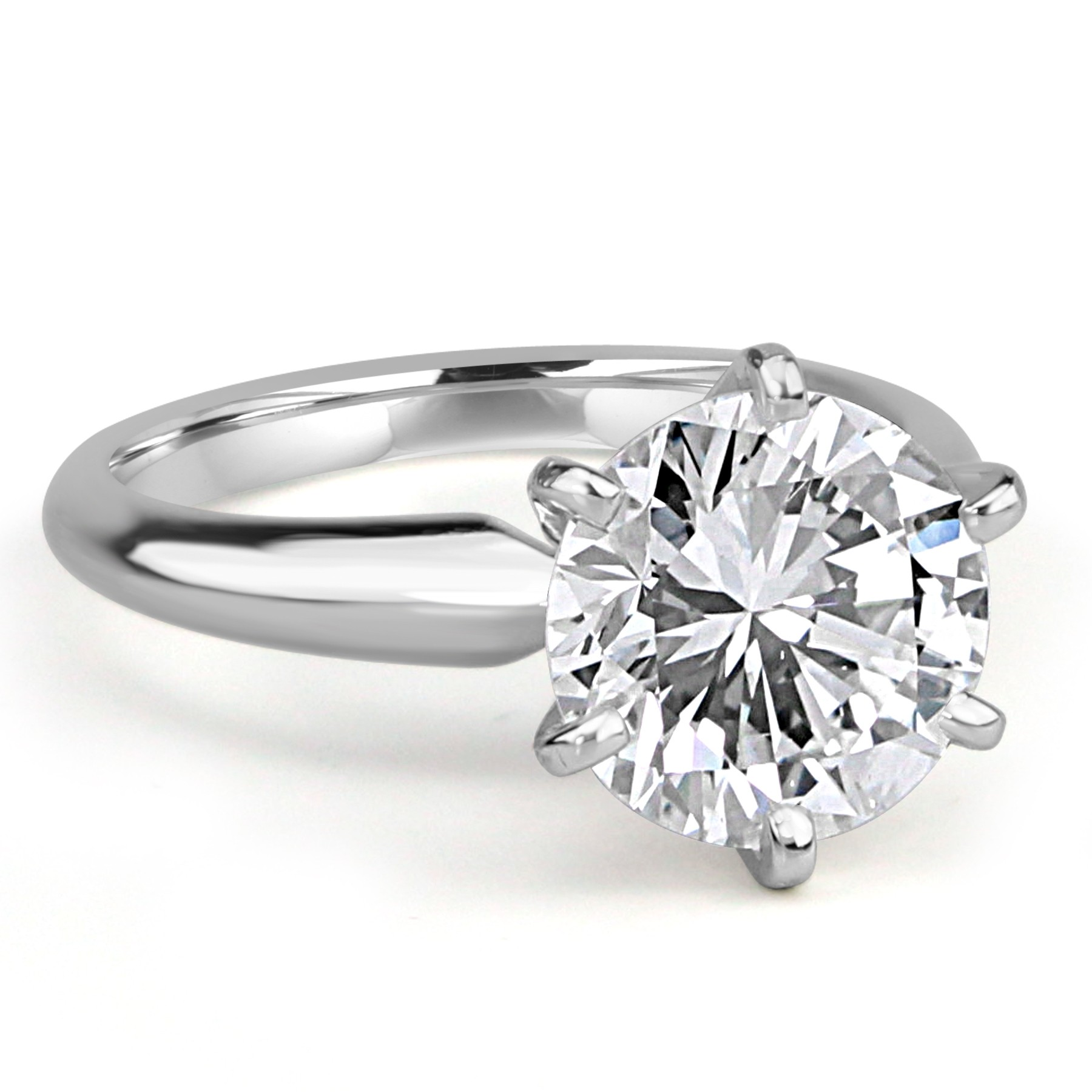 ct classic htm pave in p gold diamond white ring engagement rings prongs round scalloped cut