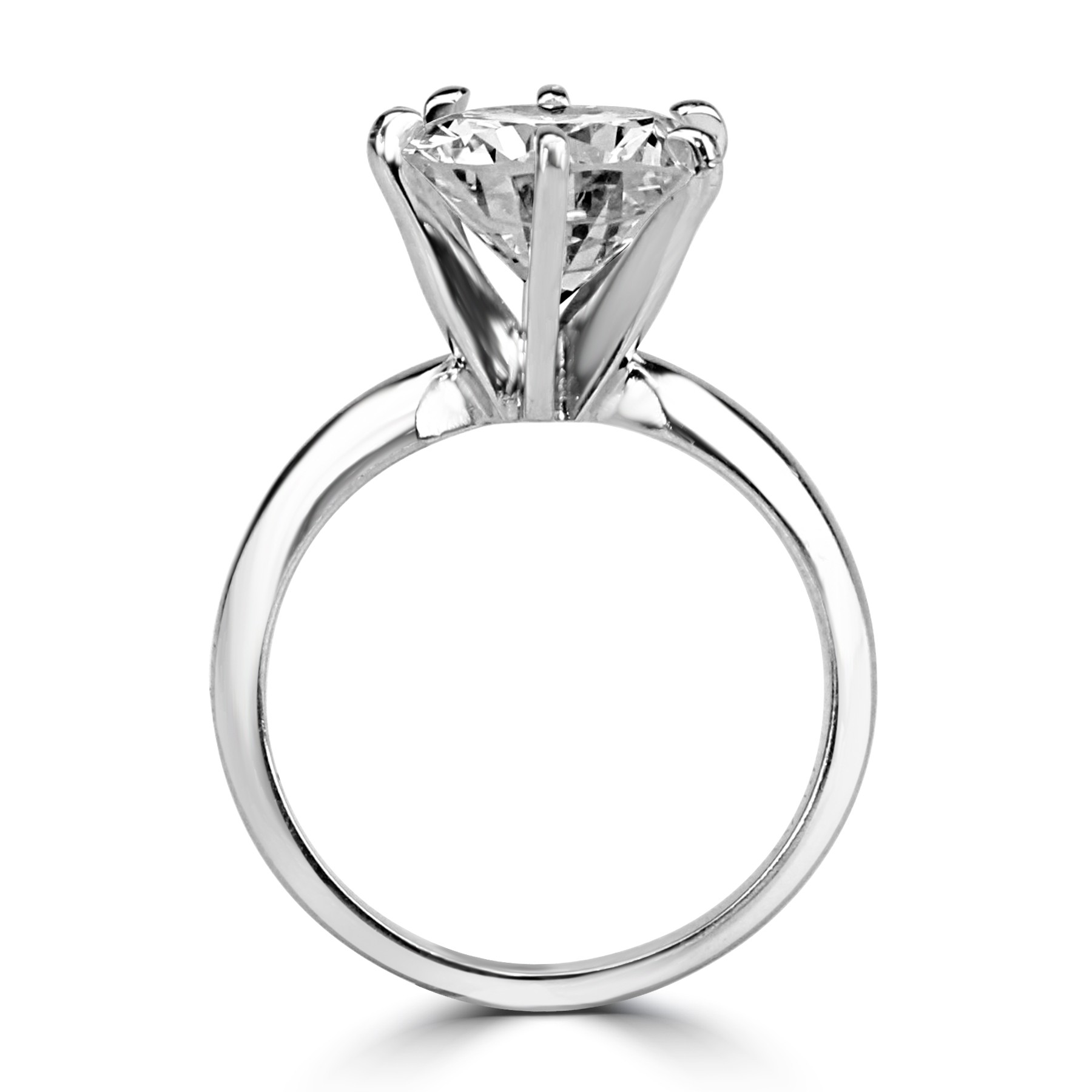 diamond engagement gold ring rings damiani solitaire white