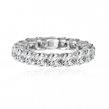 14k w/g diamond eternity band 3.38ctw