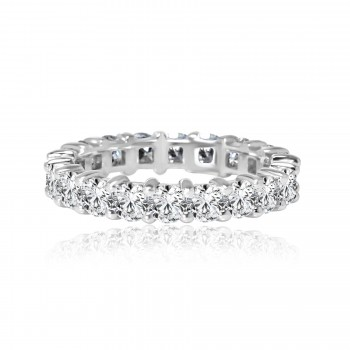 14k w/g diamond eternity band 2.81ctw